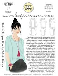HP 1226 A4 & letter download Plain & Simple Slouchy T-Shirt Blouse