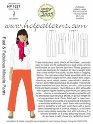 HP 1227 Fast & Fabulous Miracle Pants