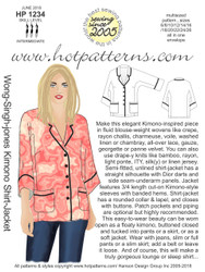 HP 1234 DL A4 & letter Wong-Singh-Jones Kimono Shirt-Jacket