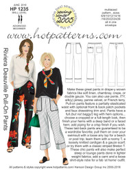 HP 1235 DL A4 and letter Riviera Deauville Pull-on Pants