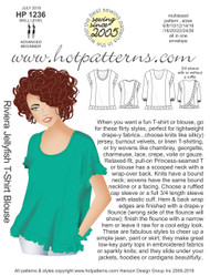 HP 1236 dl Riviera Jellyfish T-Shirt blouse