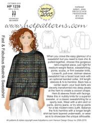 HP 1239 A4 & letter DL Fast & Fabulous Beatnick Sweatshirt
