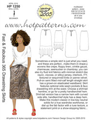 HP 1250 Fast & Fabulous 365 Drawstring Skirts