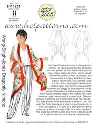 HP 1251 Wong-Singh-Jones Dragonfly Kimono