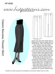 Greatest Hits HP 5026 Trouser Skirt