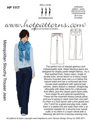 HP 1117 Greatest Hit Slouchy Trouser Jeans
