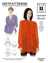 HP 1257 DL Vermeer Blouse