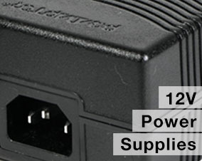 12v plug in adaptor power supply
