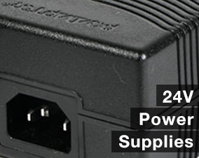 24v plug in adaptor power supply
