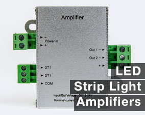 Amplifiers for LED Strip Lights