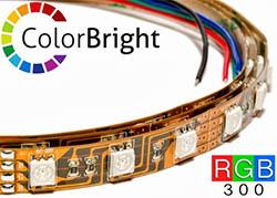 colorbright rgb color changing led strip lights