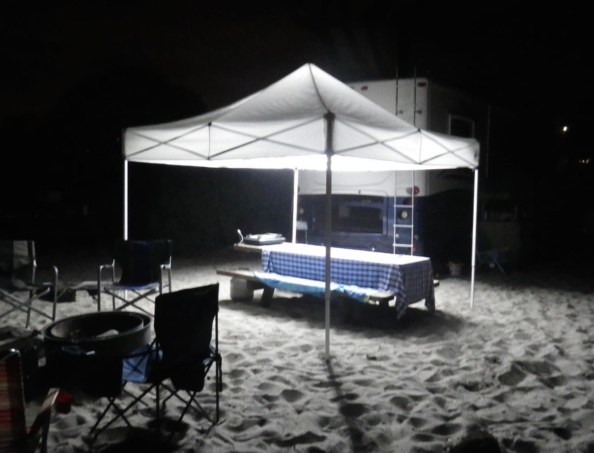 Diy Camping Light Ez Up LED Strip