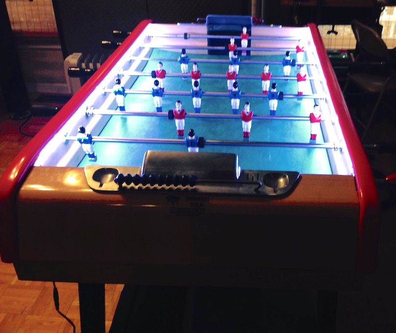 game table task lighting