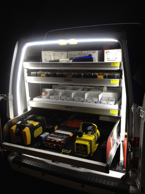 handyman truck LED lighting for tools