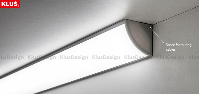 KOPRO extrusion by KLUS and Flexfire LEDs
