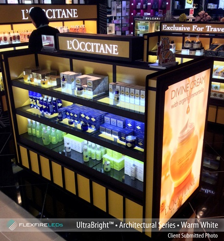 LED Display Case Lighting - How to light displays with LEDs