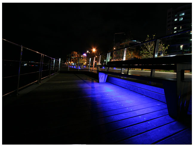 Outdoor Landscape Lighting Examples : Outdoor and patio led strip light examples weather