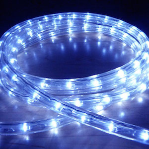 What is the difference between rope lights and led strip lights rope lighting has been on the market for a long time and has a variety of uses basically it is a long cylindrical tube that houses an internal light mozeypictures Image collections