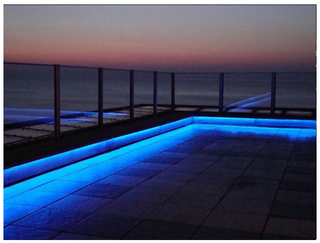 Outdoor and patio led strip light examples weather resistant leds led outdoor patio strip light examples mozeypictures Gallery