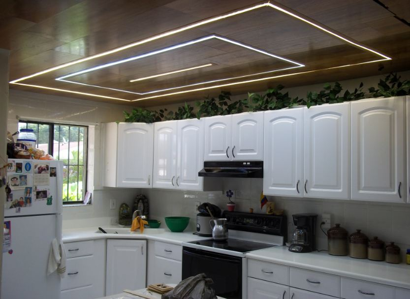 Ultra Bright LED Strip Light Task Lighting Examples - Bright led kitchen lights