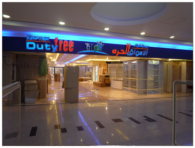 LED strip light example for signs and signage