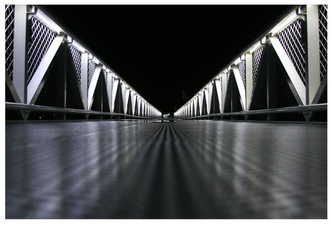 outdoor bridge LED strip light examples