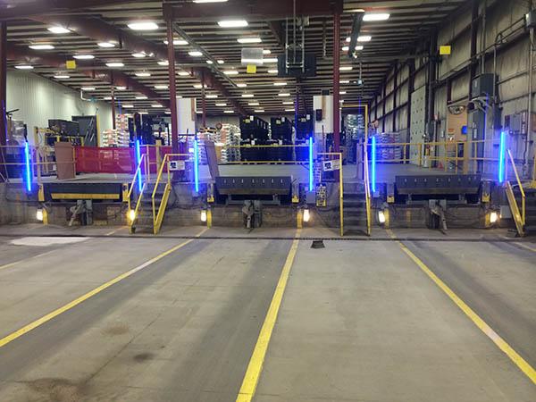 led dock lights. Led Truck Dock Lighting Blue Strip Light Example Lights A