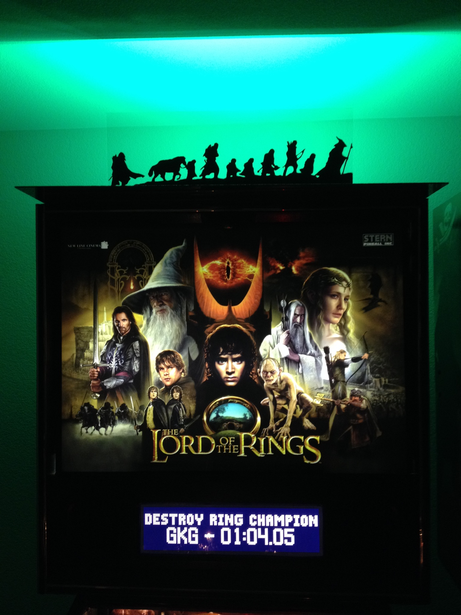 Lord of the Rings Pinball Machine 2