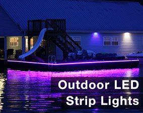 LED strips for outdoor applications  sc 1 st  Flexfire LEDs & LED strip lights | Brightest Architectural LED Strip Lighting