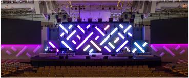 Saddleback church LED lighting Flexfire LEDs