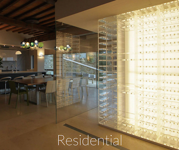 Residential design with LED strip light examples