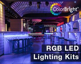 Flexible led strip lighting kits from flexfire leds brightest led single color led strip lighting kits rgb color changing lighting kitsg aloadofball Images