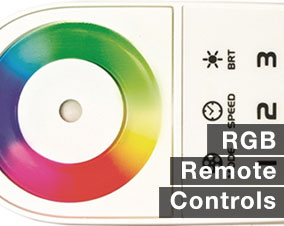 RGB Color changing remotes for LED Strip Lights