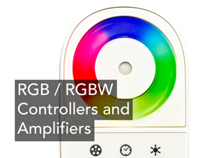 RGB / RGBW Controllers and Amplifiers