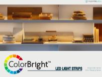 Accent lighting ColorBright LED Strip Light Brochure