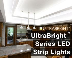 Ultra bright LED Strip Lights & LED strip lights | Brightest Architectural LED Strip Lighting