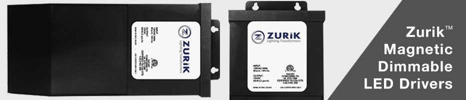 Zurik Magnetic Dimmible Power Supplies