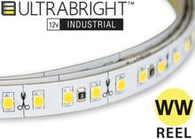 Industrial LED strip lighting warm white