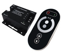 Single color LED strip light dimmer touch remote