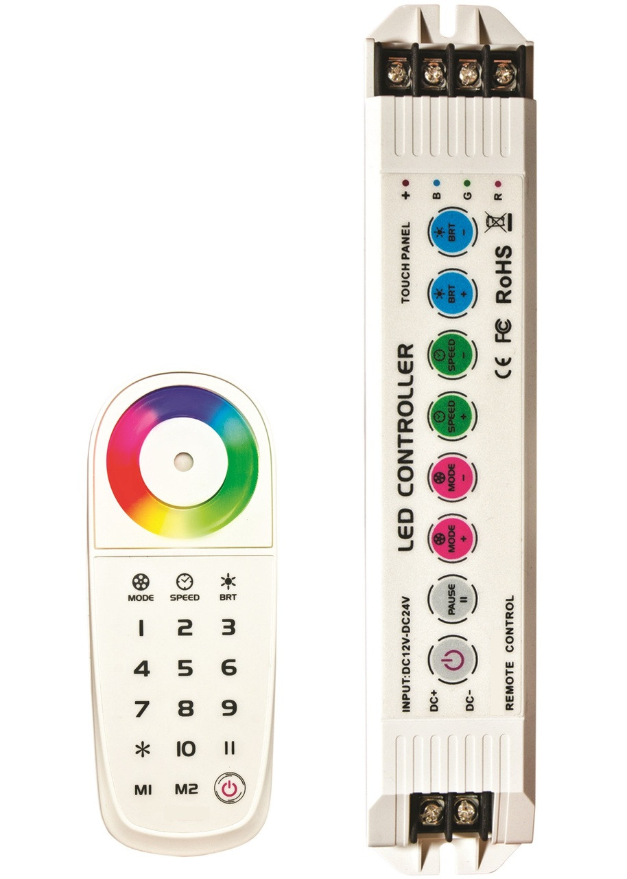 Multi Zone Rgb Led Remote 10 Control With One Diagram In Addition Waterproof Also Wireless And Receiver