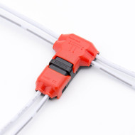Snap On Wire Connectors - 2 Wire T-Connector