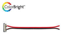 ColorBright™ Single Color LED Solderless Connector - (8mm)