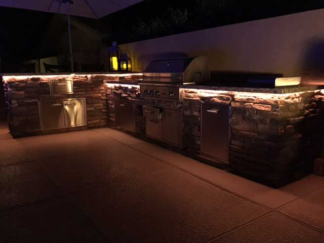 BBQ grill LED lighting