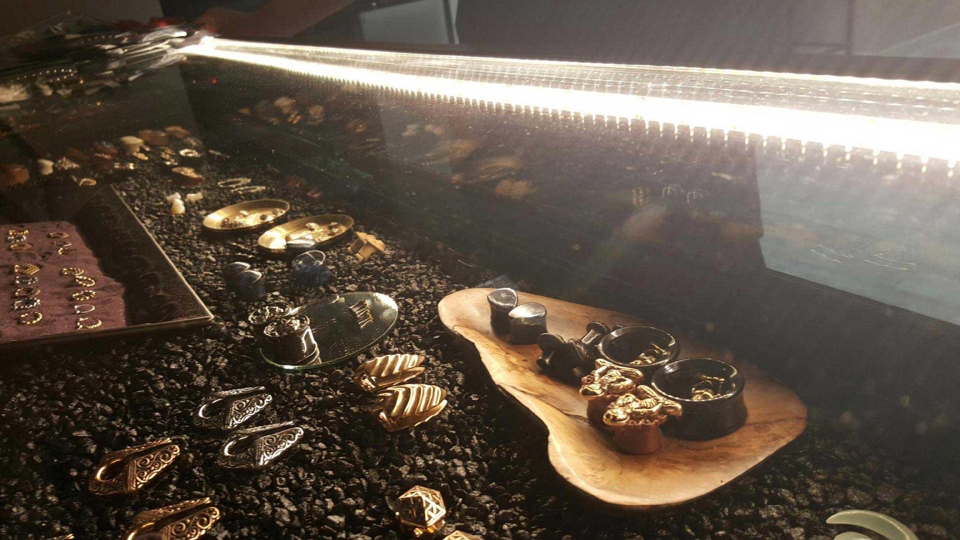 jewelry case LED lighting
