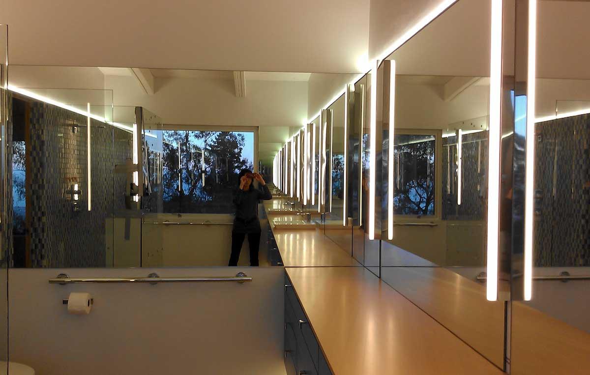 Marcy wong architect LED bathroom lighting
