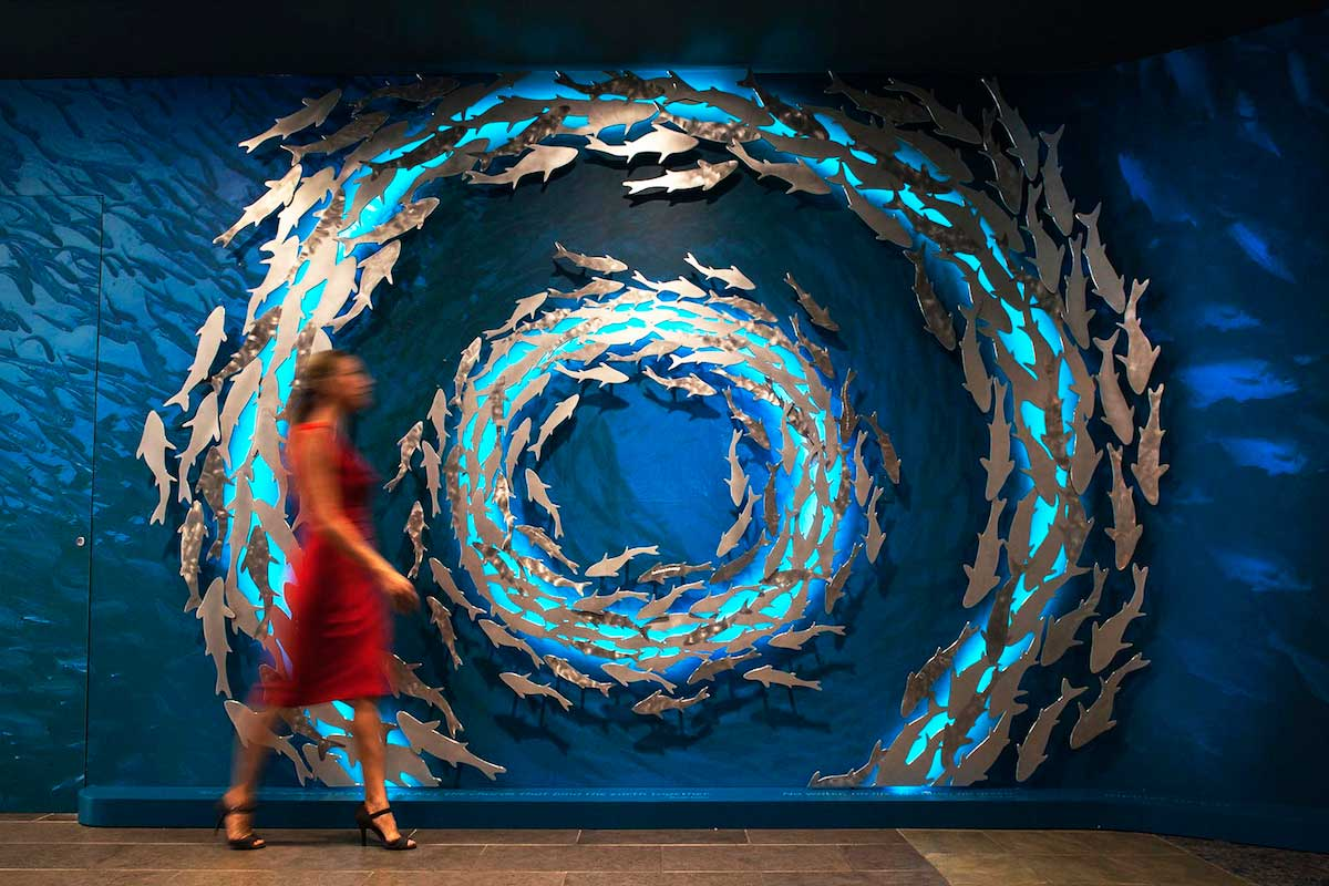 mga sculpture studio commercial lighting designs
