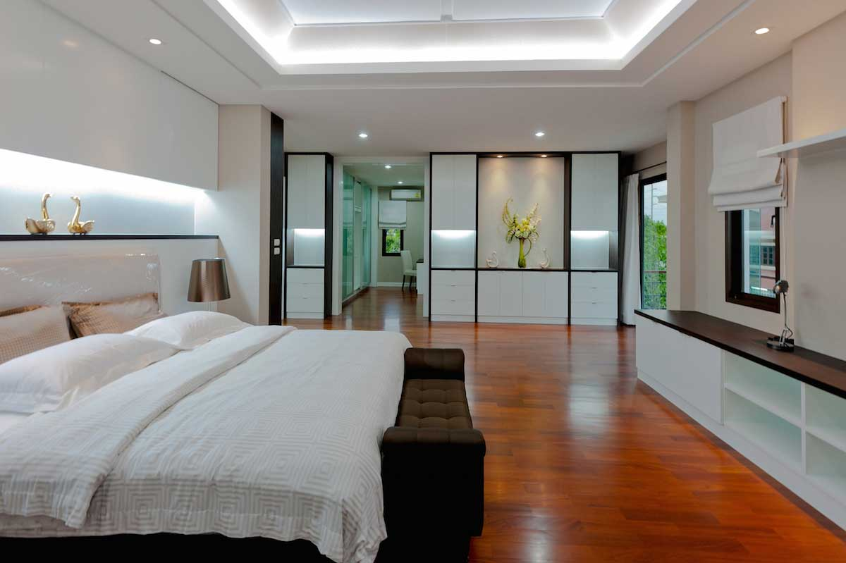 Modern Bedroom E Accent Lighting