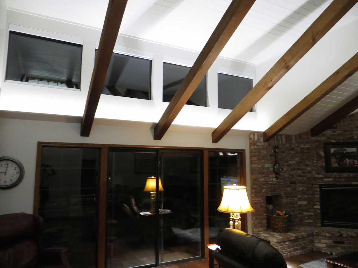 Modern living room uplighting LEDs 02