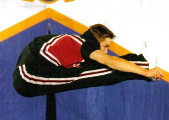 Cheerleading Pike Jump