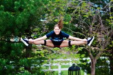 Cheerleading Straddle